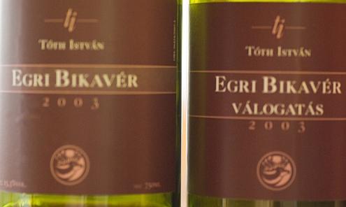 Tóth István Bikavér 2003