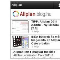 Nokia App az Allplan.blog.hu eléréséhez