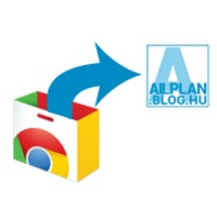 Google Chrome bővítmény az allplan.blog.hu megnyításához