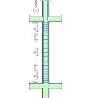 Vasfelirat: pillér kengyelek egy méretvonalon