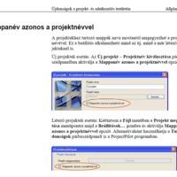 Allplan 2014 - Projektnév a projektmappa neve