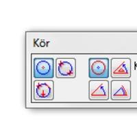 Hány féle képen szerkeszthető kör az Allplanban?