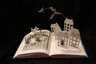 A legszebb könyvszobrok