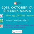 World Values Day - 2019. október 17. - Miért vagyok én értékes?