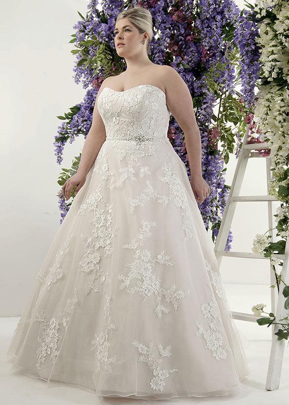 14de1aee89 Legelőnyösebb plus size menyasszonyi ruhák - ÁLOMPÁR - blog