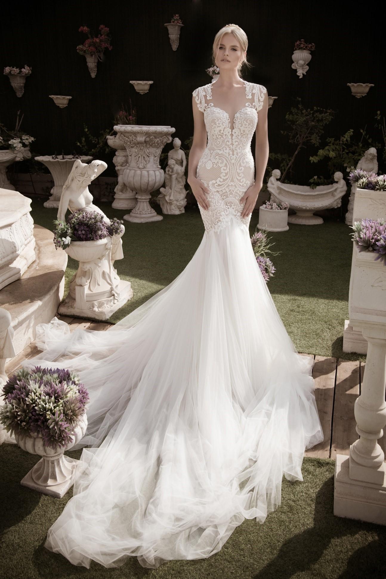 Sellő menyasszonyi ruha galéria - ÁLOMPÁR - blog 108d2d7a40