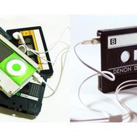 iPod kazettába csomagolva