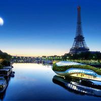 Bálna alakú lebegő kert a világ folyóit tisztítja