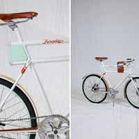 Elektromos bicikli a retro jegyében