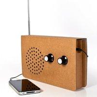 Karton rádió iPhone-hoz