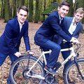 Elektromos kerékpár meghajtás biohulladékból