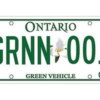Zöld rendszámtábla környezetbarát autók számára