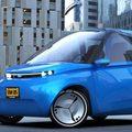 Szinte teljesen újrahasznosítható elektromos kisautó