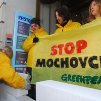 Bankot falaz a Greenpeace
