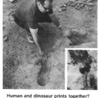 Emberek és dinoszauruszok együttélése