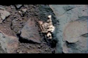 Tényleg csontvázat találtak a Marson?
