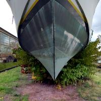 Hajótemető / -javító - mászás, bejárás