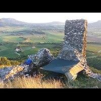 Csobánci Vár, tura és kempingezés / wild camping in Hungary