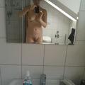 Fürdőszoba-szelfi
