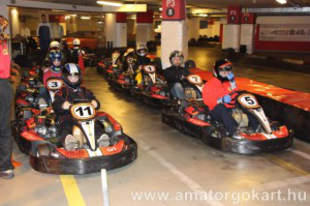 Endurance OAGB 1. futam - G1 Kart Center rev.