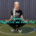 The Sims 4: Functional Magic Circle and Wands Mod