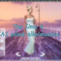 The Sims 4: CAS pózok alkalmazása