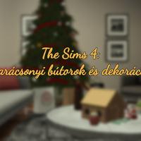 The Sims 4: Karácsonyi bútorok és dekorációk