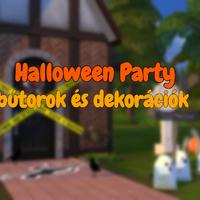 The Sims 4: Halloween Party bútorok és dekorációk