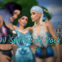 The Sims 4: Oil Spill Stuff Pack