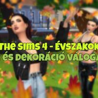 The Sims 4: Évszakok - Póz és dekoráció válogatás