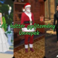 The Sims 4: CAS háttér gyűjtemény I. - Ünnepek