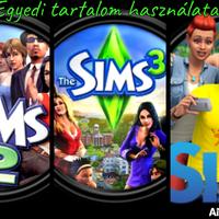 Egyedi tartalom használata: The Sims 2, The Sims 3 és The Sims 4