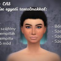 The Sims 4 - CAS: Simek készítése egyedi tartalmakkal