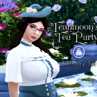 The Sims 4: Teanmoon's Tea Party Stuff Pack