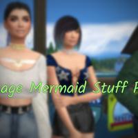 The Sims 4: Vintage Mermaid Stuff Pack