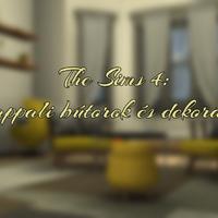 The Sims 4: Nappali bútorok és dekorációk
