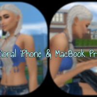 The Sims 4: Functional iPhone & MacBook Pro Mod