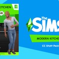 The Sims 4: Modern Kitchen Stuff Pack