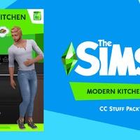 The Sims 4: Modern Kitchen Stuff Pack
