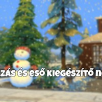 The Sims 4: Havazás és eső kiegészítő nélkül!