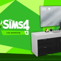 The Sims 4: Chic Bathroom Stuff Pack