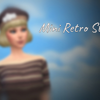 The Sims 4: Mini Retro Stuff Pack