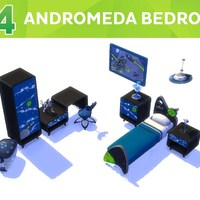 The Sims 4: Andromeda Bedroom Stuff Pack