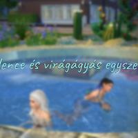 The Sims 4: Medence és virágágyás egyszerűen