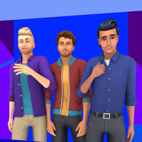 The Sims 4: MM Male Stuff Pack