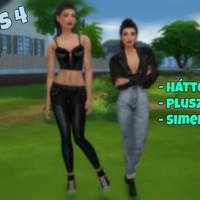 The Sims 4 - CAS: hátterek, plusz oszlopok és a Simek magassága