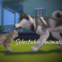 The Sims 4: Selectable Animals Mod