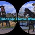 The Sims 4: Rideable Horse Mod