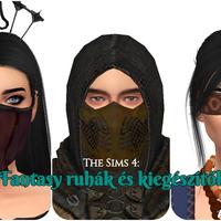 The Sims 4: Fantasy ruhák és kiegészítők