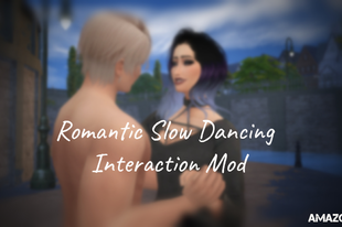 The Sims 4: Romantic Slow Dancing Interaction Mod
